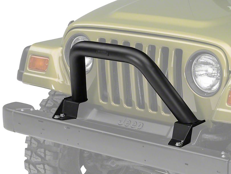 Off Camber Fabrications by MBRP Black Front Bumper Grille Guard/Light Bar (97-06 Wrangler TJ)