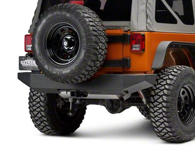 Add Off Camber Fabrications by MBRP Rear Full Width Bumper (07-17 Wrangler JK)