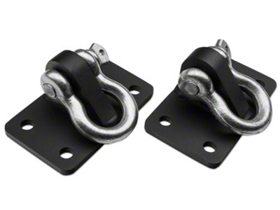 Add Off Camber Fabrications by MBRP D Ring Bracket Mount (07-17 Wrangler JK)