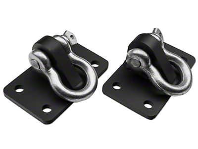 Off Camber Fabrications by MBRP D Ring Bracket Mount (07-18 Wrangler JK)