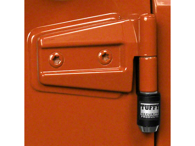 Tuffy Security Door Locker Set (07-18 Jeep Wrangler JK 2 Door)