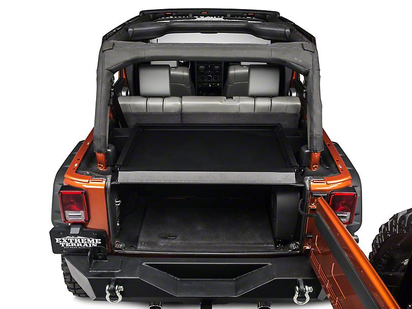 Tuffy Security Deck Enclosure (07-10 Jeep Wrangler JK)