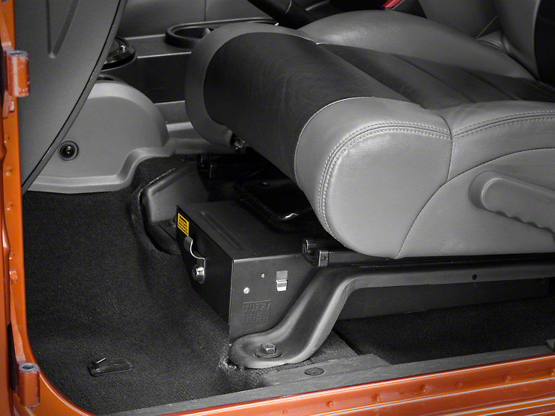 Tuffy Jeep Wrangler Conceal Carry Underseat Drawer