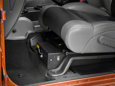 Tuffy Conceal Carry Underseat Drawer - Driver Side (07-10 Wrangler JK 2 Door; 07-17 Wrangler JK 4 Door)