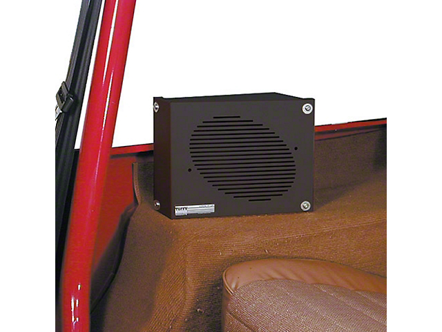 Tuffy Speaker Security Box Set (87-95 Jeep Wrangler YJ)