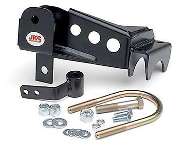 JKS Rear Trackbar Relocation Bracket for 2-6 in. Lift (07-18 Wrangler JK)