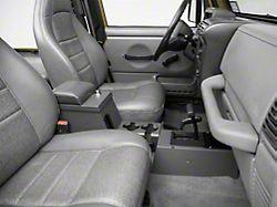 Tuffy Series II Full Security Console - Charcoal (97-06 Jeep Wrangler TJ)
