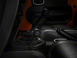 DV8 Off-Road 4WD Shifter Knob - Black (07-18 Jeep Wrangler JK)