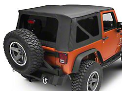 Smittybilt OEM Replacement Top with Tinted Windows; Black Diamond (10-18 Jeep Wrangler JK 2 Door)