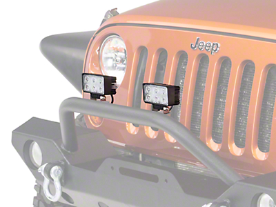 Lifetime LED 4.25 x 2.25 in. Rectangle 6-LED Light - Flood Beam (87-17 Wrangler YJ, TJ & JK)