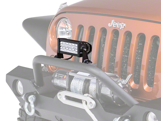 Lifetime LED 7.50-Inch 12-LED Light Bar (Universal; Some Adaptation May Be Required)