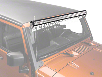 Lifetime LED 50 in. 100 LED Light Bar (87-18 Wrangler YJ, TJ, JK & JL)
