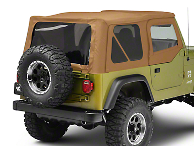 Bestop Replace-A-Top w/ Tinted Windows & Half Doors - Spice (97-02 Wrangler TJ)
