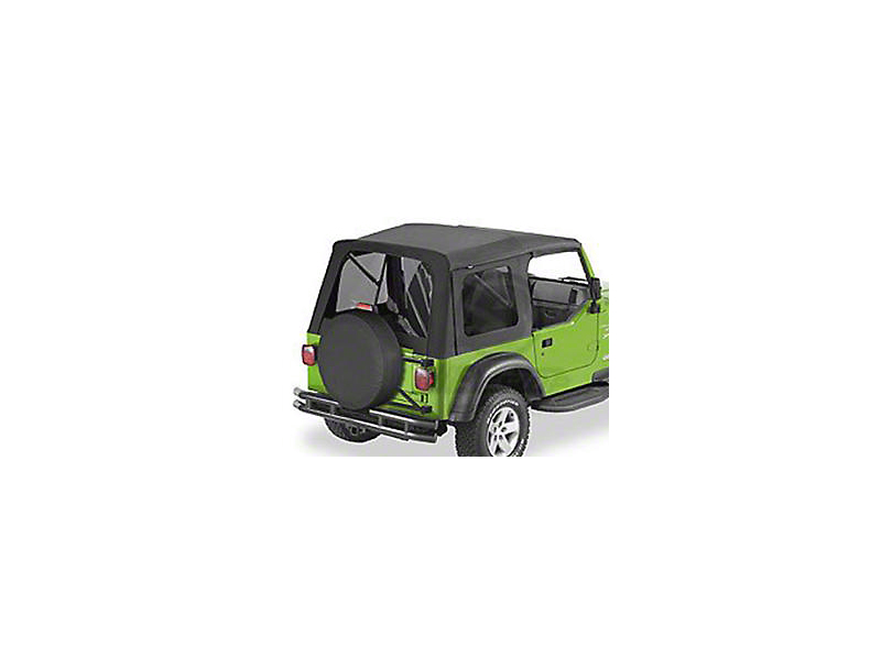 Bestop Supertop Classic Replacement Soft Top w/ Tinted Windows - Black Diamond (97-06 Jeep Wrangler TJ, Excluding Unlimited)