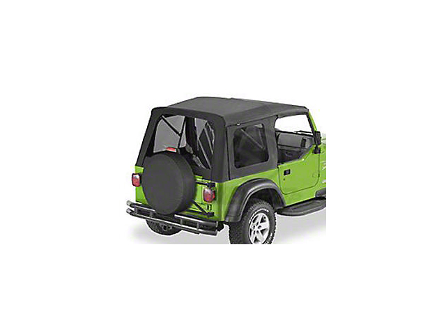 Bestop Supertop Classic Replacement Soft Top with Tinted Windows; Black Diamond (97-06 Jeep Wrangler TJ, Excluding Unlimited)