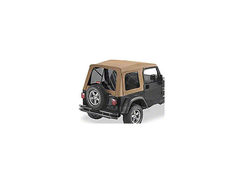 Bestop Supertop Classic Replacement Soft Top w/ Tinted Windows - Spice (97-06 Jeep Wrangler TJ, Excluding Unlimited)