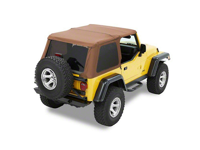 Bestop Trektop NX Soft Top; Spice (97-06 Jeep Wrangler TJ, Excluding Unlimited)
