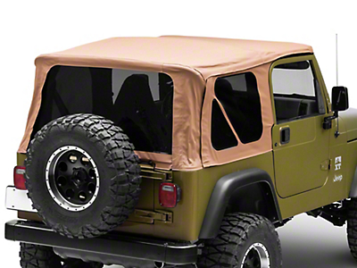 Bestop Supertop NX Soft Top w/ Tinted Windows - Spice (97-06 Wrangler TJ, Excluding Unlimited)