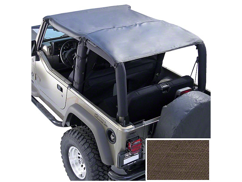 Rugged Ridge Pocket Island Topper - Khaki Diamond (97-06 Jeep Wrangler TJ)