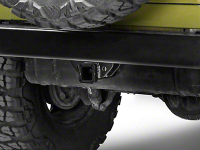 Olympic 4x4 ReEnforcer Receiver Hitch - Textured Black (97-06 Wrangler TJ)