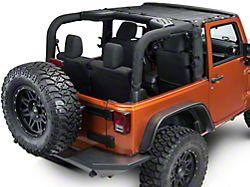 Dirty Dog 4x4 Front Sun Screen (07-18 Jeep Wrangler JK)