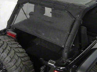 Dirty Dog 4x4 Sun Screen - Rear Cargo (07-18 Jeep Wrangler JK 4 Door)