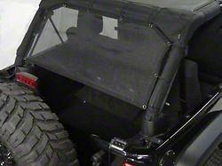 Dirty Dog 4x4 Sun Screen - Rear Cargo (07-18 Jeep Wrangler JK 4 Door)