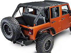 Dirty Dog 4x4 Wrangler Full Cargo Pet Divider Black