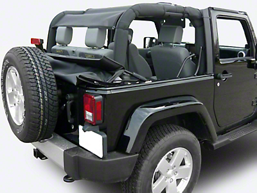 Dirty Dog 4x4 Rear Sun Screen (07-18 Jeep Wrangler JK 2 Door)