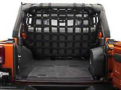 Dirty Dog 4x4 Full Cargo/Pet Divider - Black (07-18 Jeep Wrangler JK 4 Door)