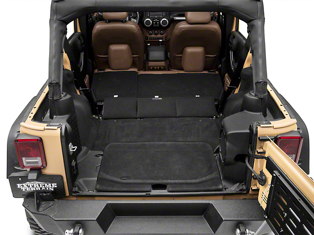 Dirty Dog 4x4 Jeep Wrangler Trench Cover J4tr07r1bk 07 18