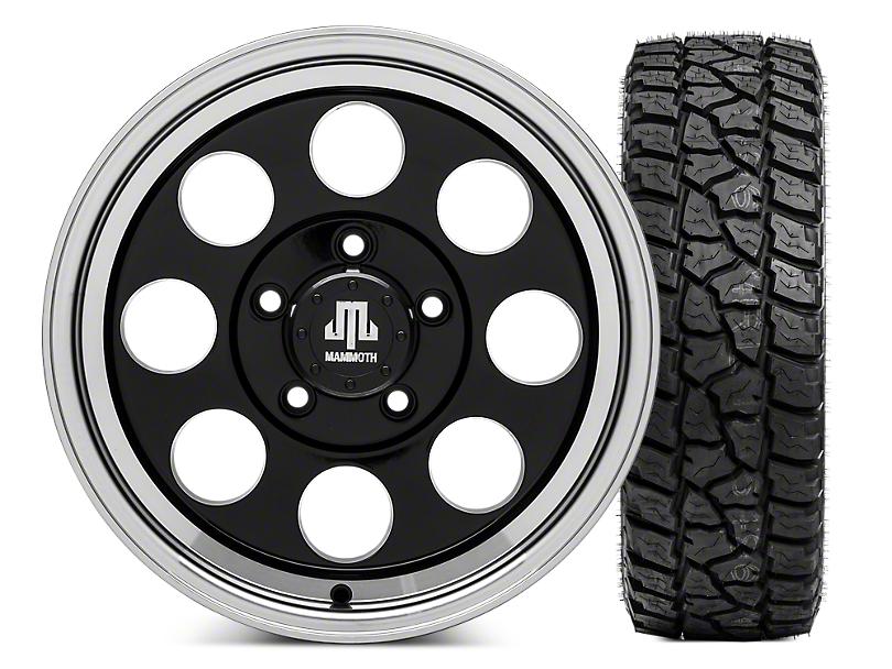 Mammoth 8 16x8 Wheel & Mickey Thompson Baja ATZP3 LT265/75R16 Tire Kit (07-18 Jeep Wrangler JK)