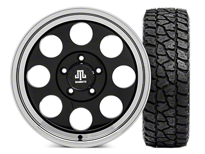 Mammoth 8 Wheel - 17x9 Wheel and Mickey Thompson Baja ATZP3 LT285/70R17 Tire Kit (07-18 Jeep Wrangler JK; 2018 Jeep Wrangler JL)