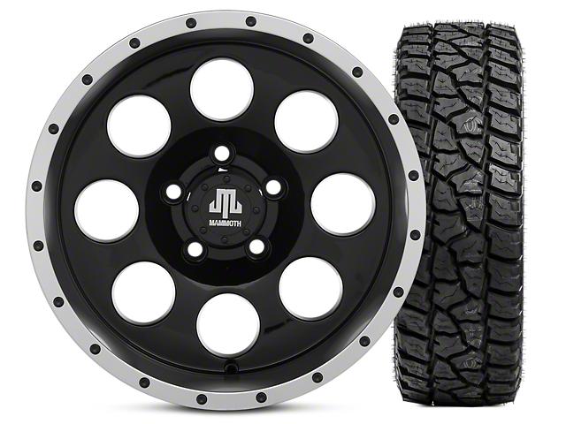 Mammoth 8 Beadlock 15x8 Wheel and Mickey Thompson Baja ATZP3 33X12.50R15LT Tire Kit (87-06 Jeep Wrangler YJ & TJ)