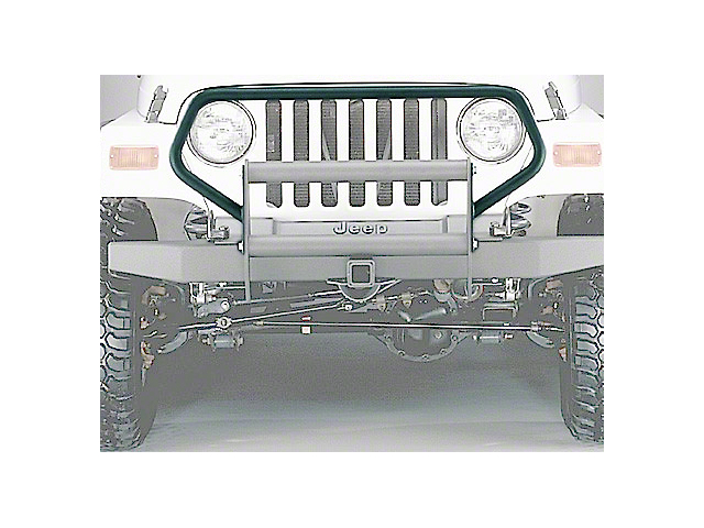 Olympic 4x4 Brush Guard - Textured Black (87-95 Jeep Wrangler YJ)