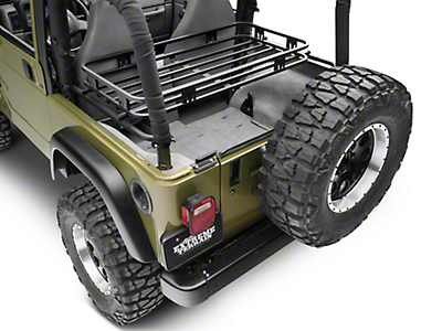 Olympic 4x4 Mountaineer Rack - Textured Black (97-06 Wrangler TJ)