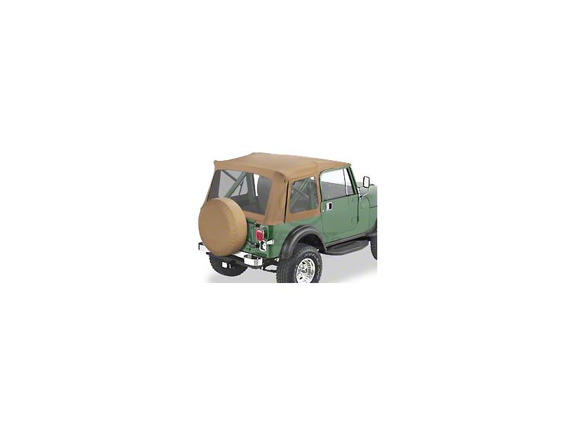 Bestop Supertop Classic Replacement Soft Top - Spice (87-95 Jeep Wrangler YJ w/ Full Doors)