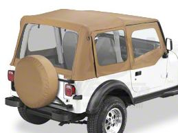 Rugged Ridge Jeep Wrangler Steel Upper Door Skin Frames