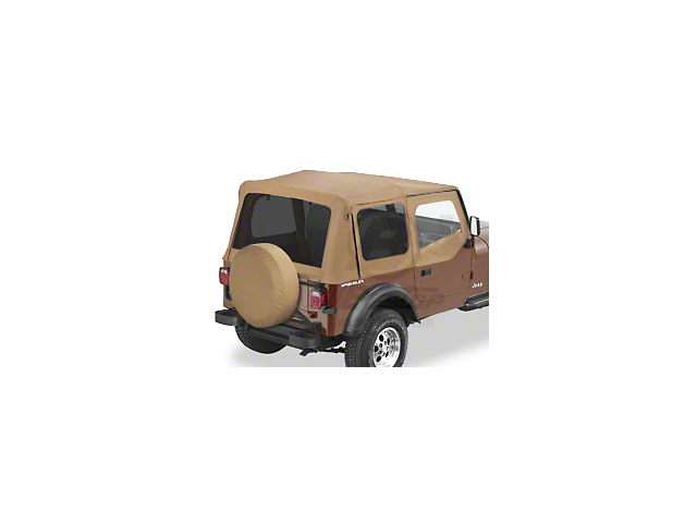 Bestop Replace-A-Top with Tinted Windows; Spice (88-95 Jeep Wrangler YJ w/ Steel Half Doors)