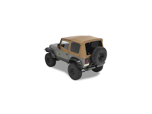 Bestop Supertop NX Soft Top - Spice (88-95 Jeep Wrangler YJ)