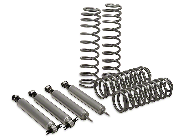 Rough Country 2.5 in. Suspension Lift Kit w/ Shocks (07-18 Jeep Wrangler JK 4 Door)