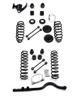 Teraflex 4 in. Lift Kit w/ Shocks (07-18 Wrangler JK 4 Door)
