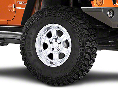 Pro Comp Series 1089 Polished Wheel - 17x9 (07-18 Jeep Wrangler JK; 2018 Jeep Wrangler JL)