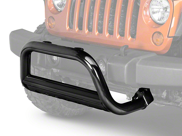 Rugged Ridge 3-Inch Bull Bar; Black (10-18 Jeep Wrangler JK)