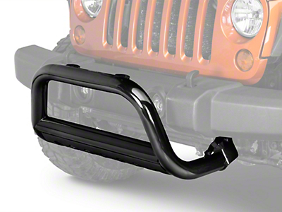 Rugged Ridge 3 in. Bull Bar Black (10-18 Jeep Wrangler JK)