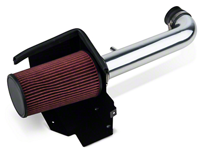 Rugged Ridge Aluminum Cold Air Intake - Polished (12-18 3.6L Jeep Wrangler JK)