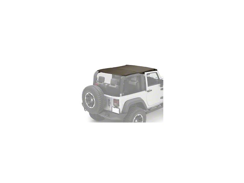Rugged Ridge Pocket Island Top - Khaki Diamond (10-18 Jeep Wrangler JK 2 Door)