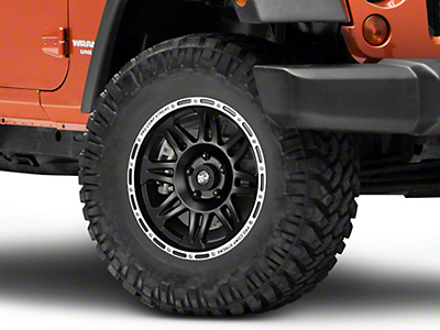 Pro Comp Series 7105 Flat Black Wheel - 17x9 (07-18 Wrangler JK)