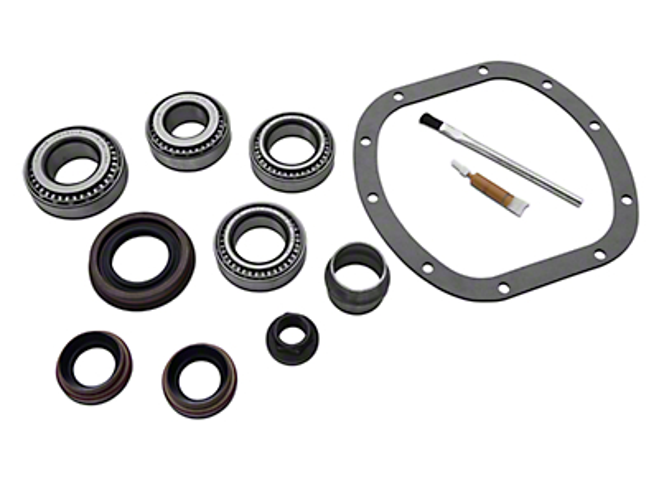 Yukon Gear Front Dana 30 Bearing Install Kit (07-18 Wrangler JK, Excluding Rubicon)