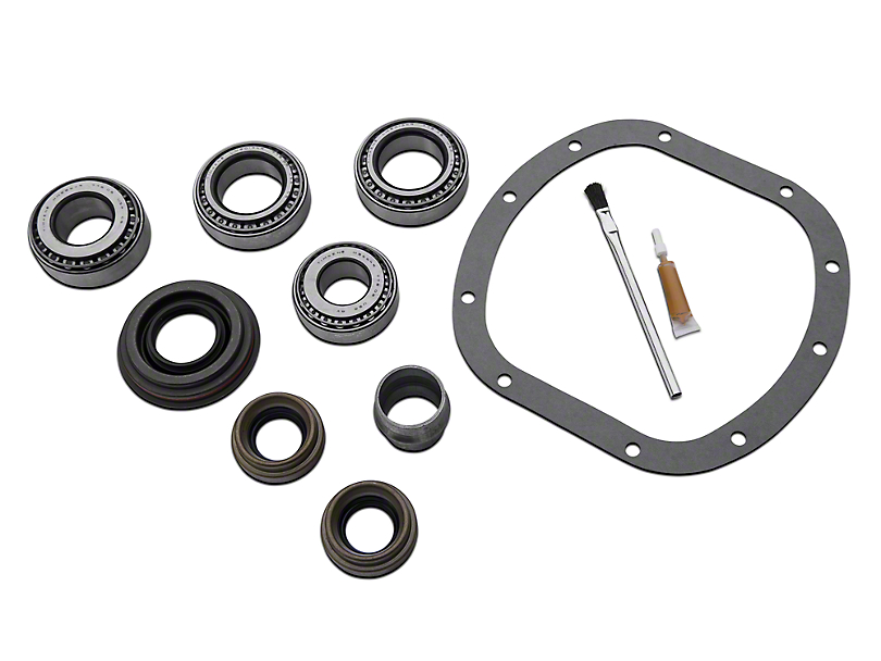 Yukon Gear Front Dana 30 Bearing Install Kit - Short (97-06 Jeep Wrangler TJ)
